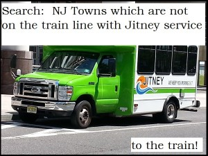 search NJ Homes for sale with jitney service to NYC trains