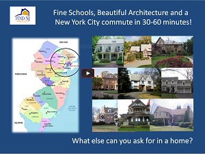 best new jersey commuter towns video